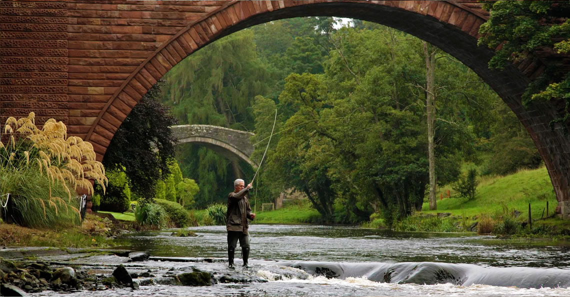 Perfect Catch: Be our guest and enjoy exclusive fishing rights on the River Doon